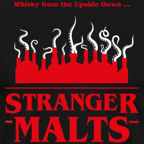 """Malt meets Movie""-Series Part 2: STRANGER MALTS - Männer Premium T-Shirt"