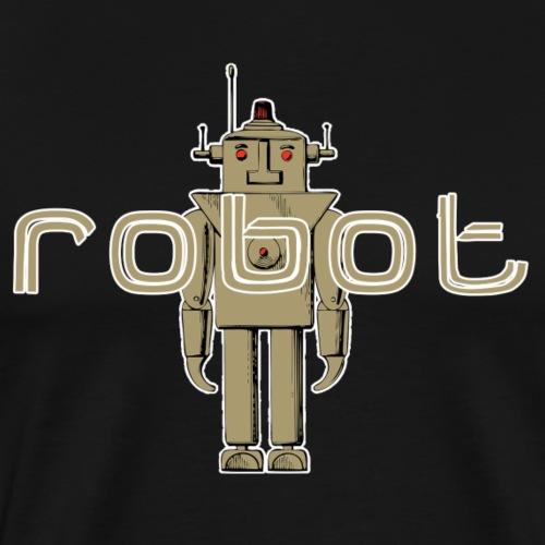 Cooles T-Shirt Roboter Geschenkidee Lustig Fun - Männer Premium T-Shirt