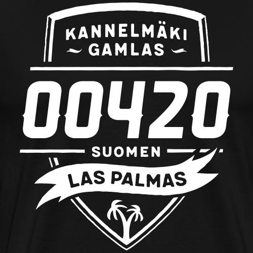 Kannelmäki - Las Palmas - Miesten premium t-paita