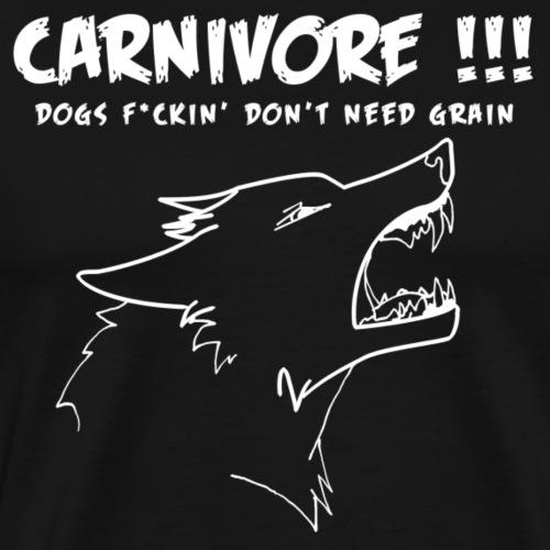 Carnivore blanc - T-shirt Premium Homme