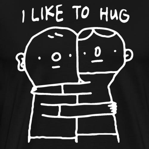 I Like To Hug - Gay Pride - Männer Premium T-Shirt