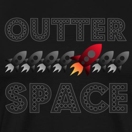 T-Shirt OUTTA SPACE - Männer Premium T-Shirt