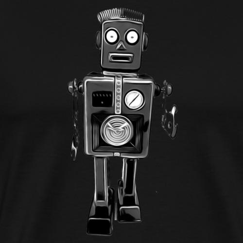 Roboter Scifi T-Shirt vintage Geschenkidee Cool - Männer Premium T-Shirt