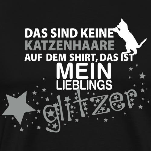 Glitzerkatze - Männer Premium T-Shirt
