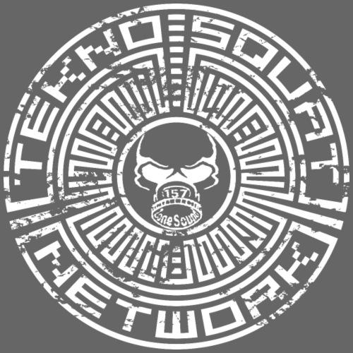 Teknosquat con suono a 157 zone - Maglietta Premium da uomo