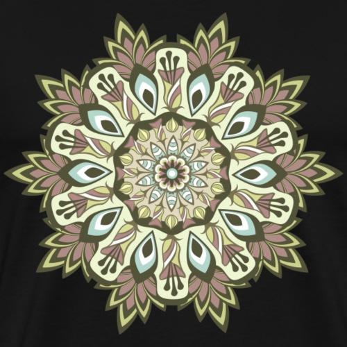 mandala - Camiseta premium hombre