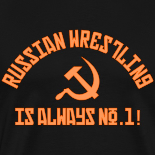 Russian Wrestling No.1 - Men's Premium T-Shirt