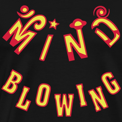 Mind Blowing - Herre premium T-shirt