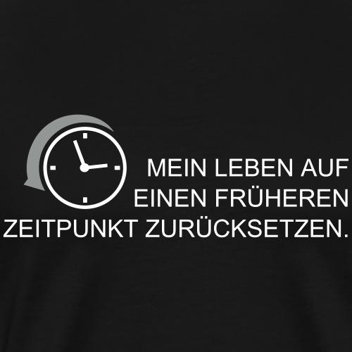 früherer Zeitpunkt 2C - Männer Premium T-Shirt