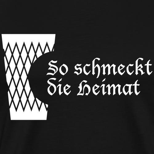 Geripptes mit Biss - Männer Premium T-Shirt