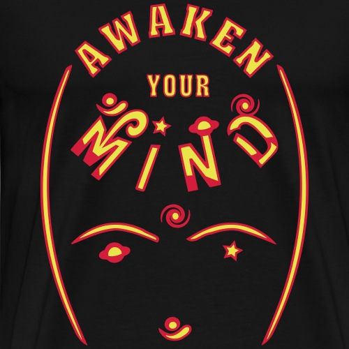 Vække dit sind - Herre premium T-shirt