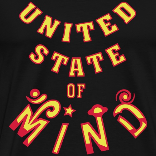 United State of Mind - Herre premium T-shirt