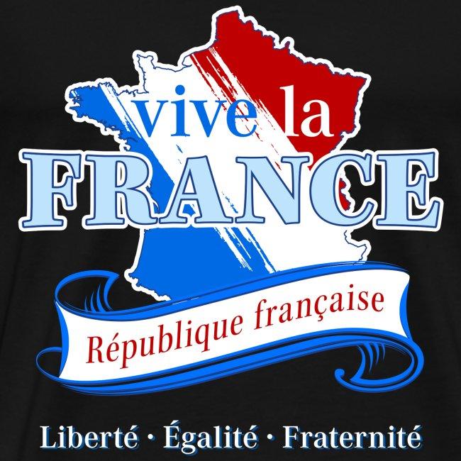vive la France Frankreich République Française