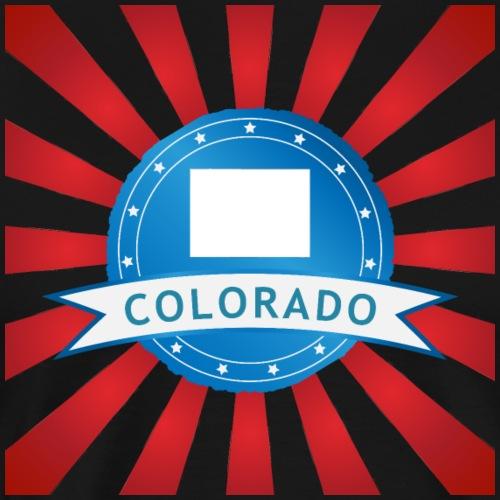Colorado Badge - Männer Premium T-Shirt