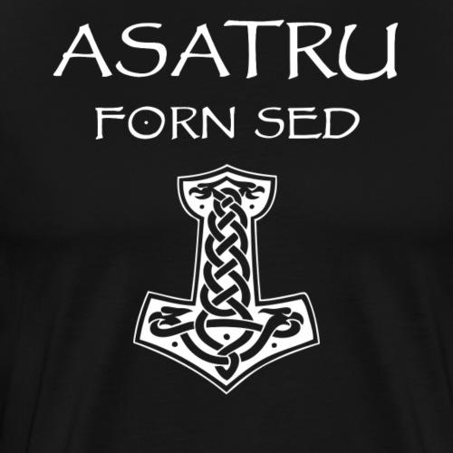 Asatru Forn Sed - Camiseta premium hombre