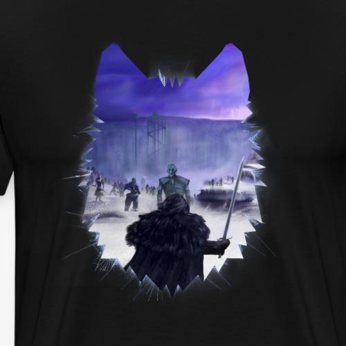 The King Snow - Camiseta premium hombre