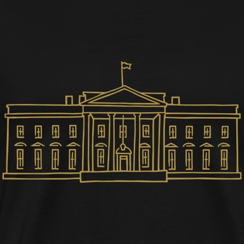 Weiße Haus in Washington - Männer Premium T-Shirt