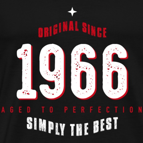 original since 1966 simply the best 50th birthday - Men's Premium T-Shirt