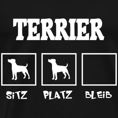 Terrier SITZ PLATZ BLEIB