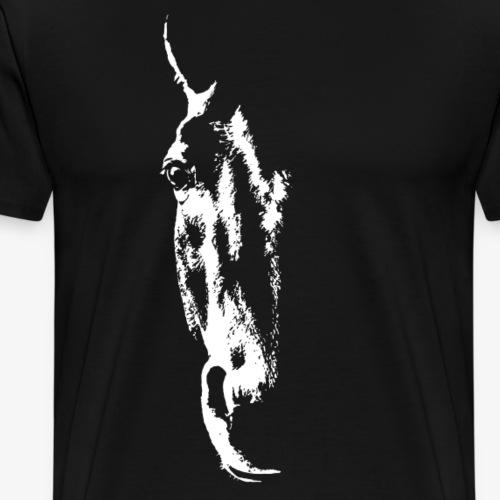 Equus Ferus - White - Miesten premium t-paita