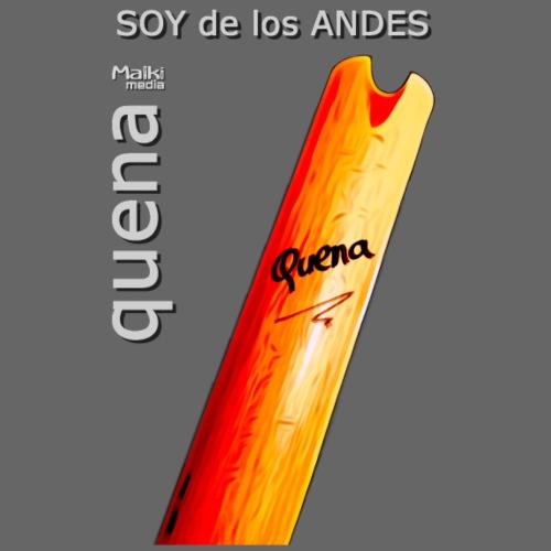 De los ANDES - Quena II - Bio-Baseballkappe