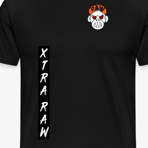 xtra raw vertical - T-shirt Premium Homme