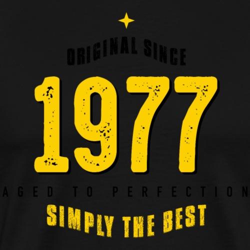 original since 1977 simply the best 40th birthday - Men's Premium T-Shirt
