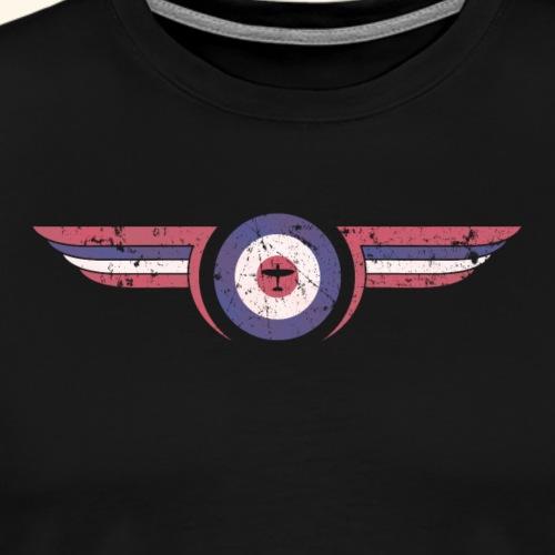airforce - Distressed - Men's Premium T-Shirt