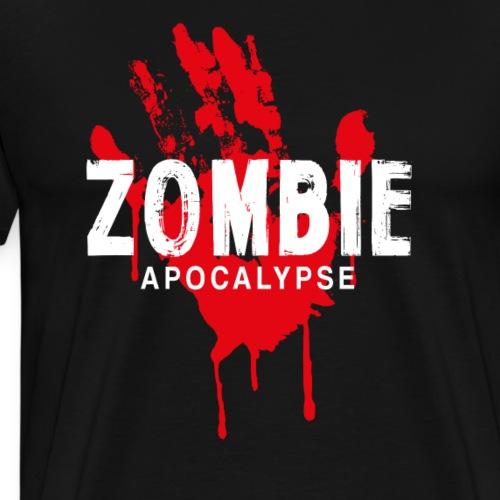 Zombie Apocalypse - Premium-T-shirt herr