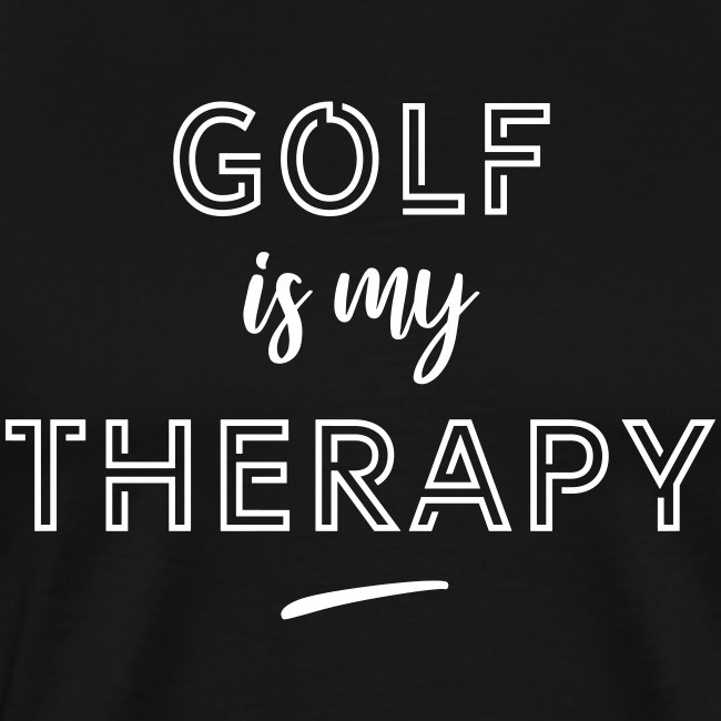 Golf is my therapy