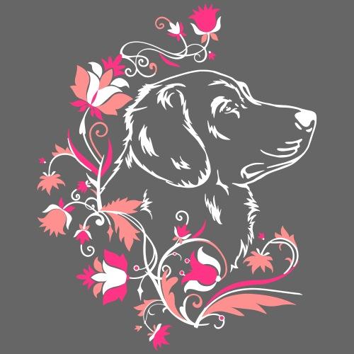 Toller Flowers 2 - Miesten premium t-paita