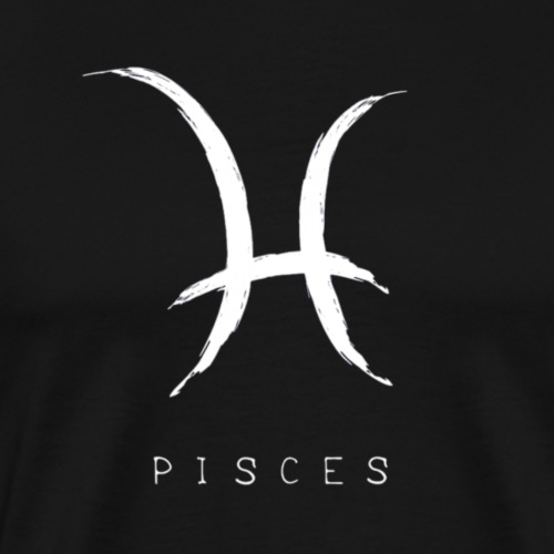 Pisces Sign and Text