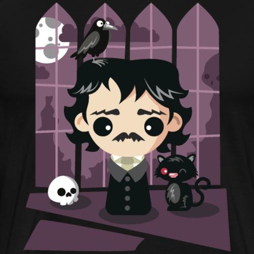 A damned Poe-t's house - Maglietta Premium da uomo