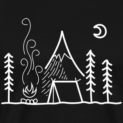 Camping - Männer Premium T-Shirt