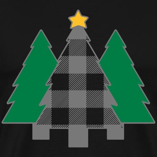 Tannenbäume - Männer Premium T-Shirt