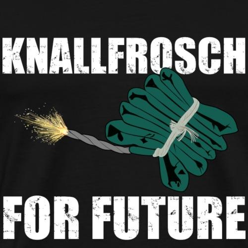 Knallfrosch for Future Pyro - Männer Premium T-Shirt
