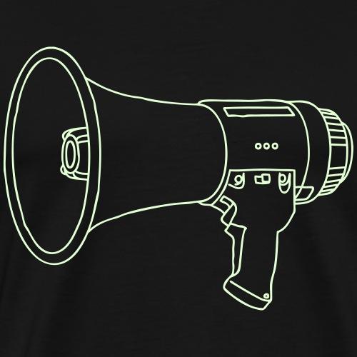 Megafon / Megaphon - Männer Premium T-Shirt