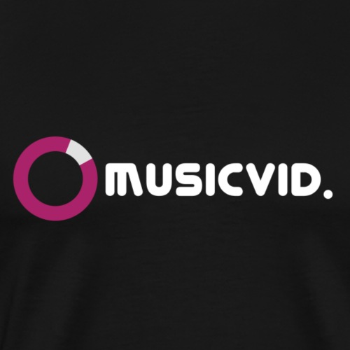Musicvid Helles Logo - Männer Premium T-Shirt