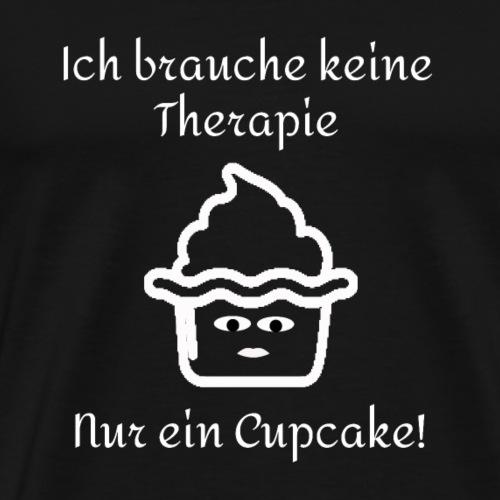 Cupcake Therapie - Männer Premium T-Shirt