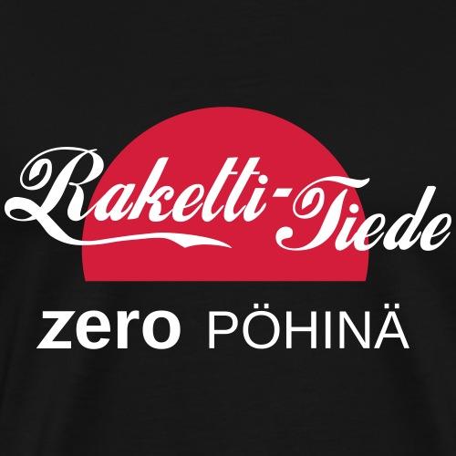 Null pöhinä - Miesten premium t-paita