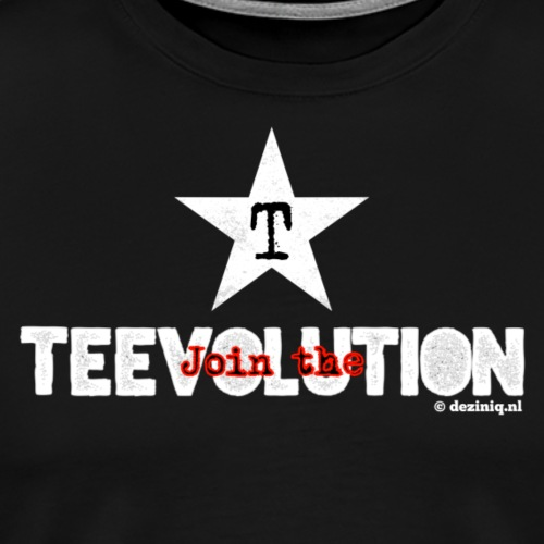 Join the Teevolution! - Mannen Premium T-shirt