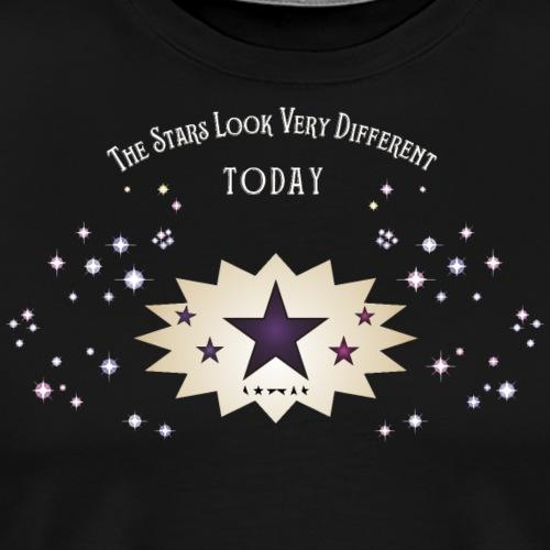 The stars look very different - Men's Premium T-Shirt