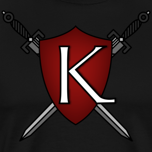 KingdomGame Shield Logo - Men's Premium T-Shirt
