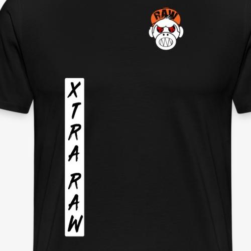 xtra raw vertical 1 - T-shirt Premium Homme