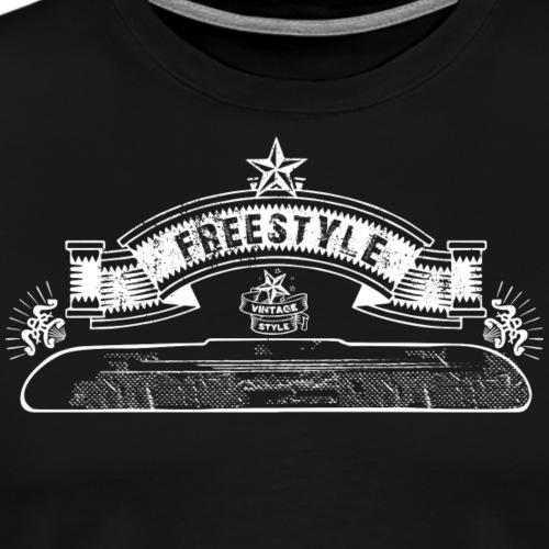 FREESTYLE ULTIMATE VINTAGE - Maglietta Premium da uomo