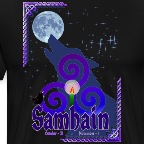 Samhain - Maglietta Premium da uomo