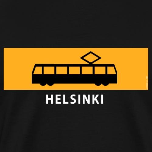 RATIKKA PYSÄKKI HELSINKI t-paidat ja tekstiilit - Miesten premium t-paita