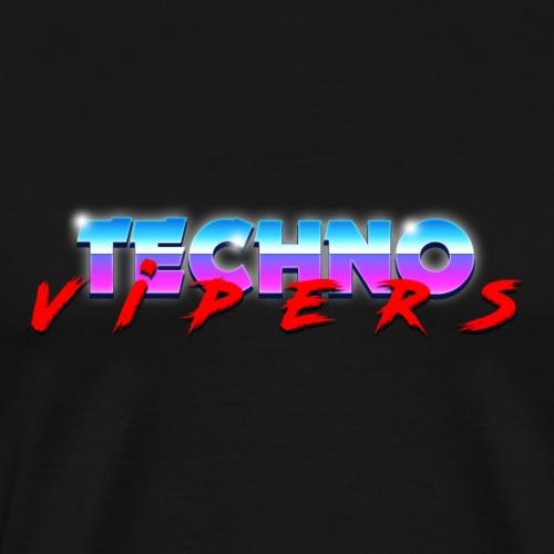 Techno Vipers - Miesten premium t-paita