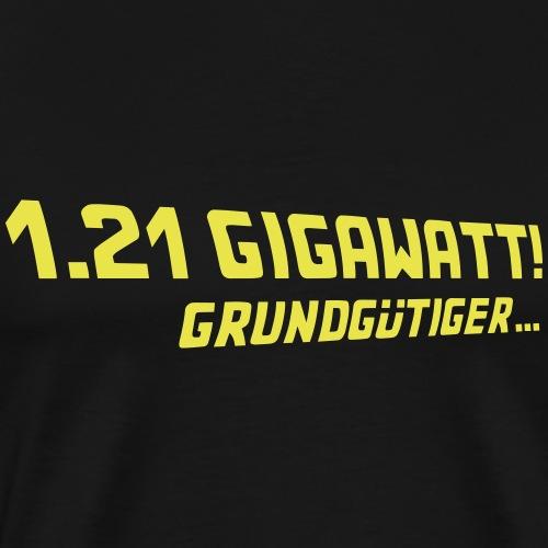 1.21 Gigawatt- BTTF - Männer Premium T-Shirt