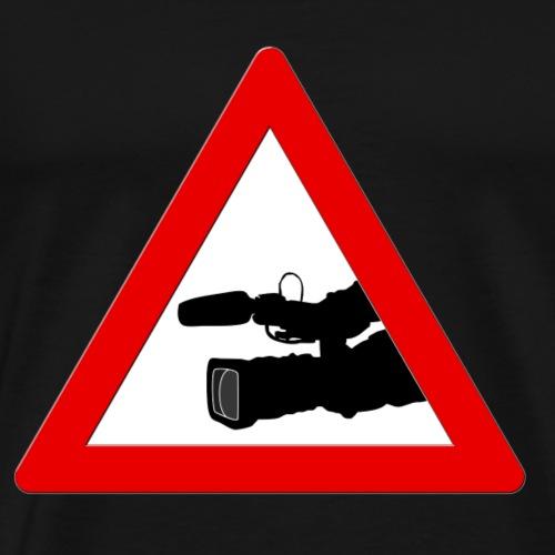 Achtung, Kameramann! - Männer Premium T-Shirt